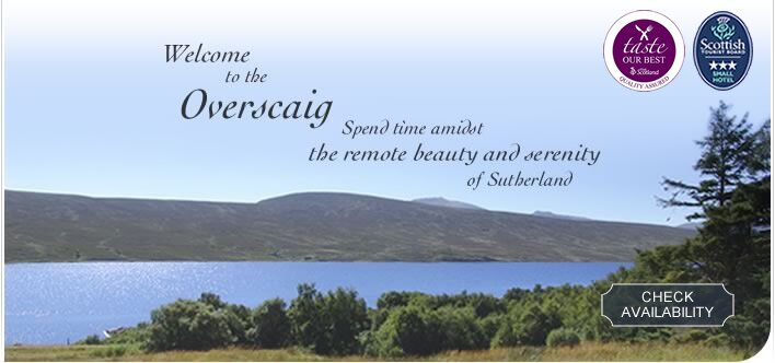 Welcome to The Overscaig Hotel, 3 star accommodation in the heart of Sutherland, North Highlands, Scotland